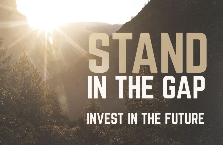 Stand In The Gap Series and Offering