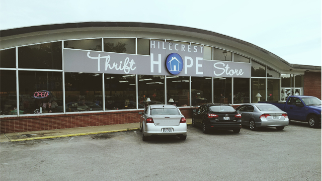 Hillcrest Hope Thrift Store in Liberty Missouri