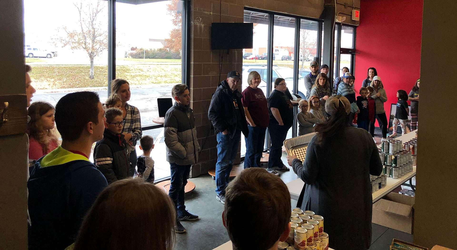 Thanksgiving Basket Outreach 2019 - Journey Church in Liberty, Missouri