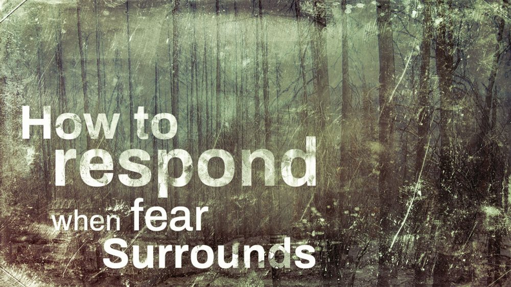 How To Respond When Fear Surrounds