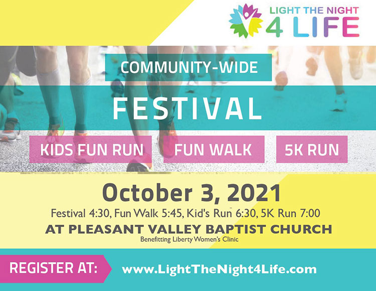 Light the Night 4 Life - Liberty Women's Clinic Glow Run